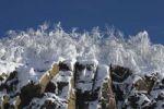 Thumbnail Snowy rocks, winter, Canada