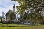 Thumbnail Westerndorf town of Rosenheim Upper Bavaria Germany pilgrimage church Holy Cross