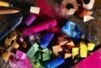 Thumbnail chalk colours