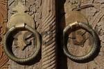 Thumbnail door with carves Uzbekistan