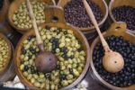 Thumbnail Tuscan specialty, marinated olives, Siena, Tuscany, Italy, Europe