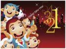 Thumbnail Illustration, Happy New Year