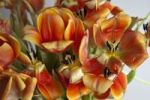 Thumbnail Flowering, almost faded tulips