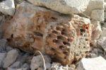 Thumbnail Construction waste, air brick, close-up
