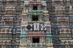 Thumbnail Gopuram of Srivilliputhur Vadapadrasayi temple, Srivilliputtur, Tamil Nadu, Tamilnadu, South India, India, Asia