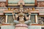 Thumbnail Statue of a god, Bannari Amman Temple, Tamil Nadu, Tamilnadu, South India, India, South Asia, Asia