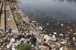 Thumbnail Garbage, dirty riverbank, Kapila, Kabini, Kabbani River, Nanjangud, Karnataka, South India, India, South Asia, Asia