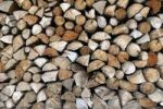 Thumbnail Stacked up wood logs, Upper Bavaria, Bavaria, Germany, Europe