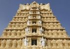 Thumbnail Gopuram of Sri Chamundeshwari Temple, Chamundi Hill, Mysore, Karnataka, South India, India, South Asia, Asia