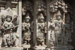 Thumbnail Images of deities on the wall of Kesava Temple, Keshava Temple, Hoysala style, Somnathpur, Somanathapura, Karnataka, South India, India, South Asia, Asia