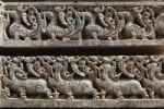Thumbnail Rows of figurines on the wall of Kesava Temple, Keshava Temple, Hoysala style, Somnathpur, Somanathapura, Karnataka, South India, India, South Asia, Asia