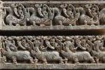 Thumbnail Rows of figurines on the wall of Kesava Temple, Keshava Temple, Hoysala style, Somnathpur, Somanathapura, Karnataka, South India, India, South Asia, Asia