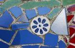 Thumbnail Colored stone tiles, mosaics, Cala Figuera, Majorca, Balearic Islands, Spain, Europe