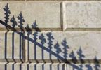 Thumbnail Shadow of an iron fence, Hofburg Imperial Palace, Vienna, Austria, Europe