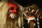 Thumbnail Arts and culture, Barong and Rangda masks, terrible mystical mythical creatures, Ubud, Bali, Indonesia, Southeast Asia, Asia