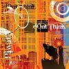 Thumbnail Don't think, grunge graffiti, illustration