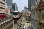 Thumbnail Elevated train, Kuala Lumpur, Malaysia, Southeast Asia