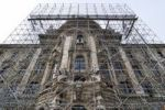 Thumbnail Justizpalast Palace of Justice with scaffolding, Munich, Bavaria, Germany, Europe