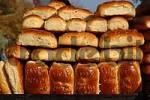 Thumbnail street trading of bread in Uzbekistan