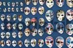 Thumbnail Venetian masks en miniature Venice Italy