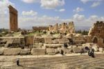 Thumbnail Roman temple ruins, UNESCO World Heritage Site, Baalbek, Beqaa Valley, Lebanon, Middle East, Orient