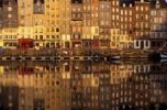 Thumbnail Old harbour at dawn, Honfleur, Normandy, France, Europe