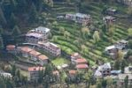 Thumbnail Houses built on terraced fields, Triund, Dharamsala, India, Asia