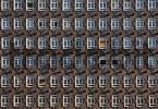 Thumbnail Many windows at Sprinkenhof office building at Hamburg Germany