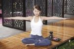 Thumbnail Young Asian woman doing yoga
