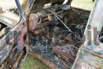 Thumbnail burnt out interior of a Mercedes G 4x4 car