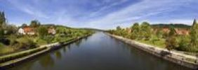 Thumbnail RhineMainDanube Canal at Berching, Upper Palatinate, Bavaria, Germany, Europe