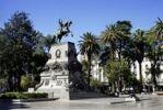 Thumbnail Plaza San Martin square with equestrian statue, Cordoba, Argentina, South America