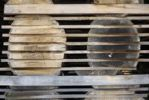 Thumbnail Storage of sawn timber logs in longitudinal direction for better drying in a sawmill