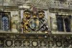 Thumbnail coat of arms at a house in Salisbury Wiltshire England