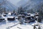 Thumbnail Gokayama village, snow, Toyama, Japan, Asia