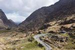 Thumbnail Mountain pass road, Gap of Dunloe near Killarney, County Kerry, Ireland, British Isles, Europe