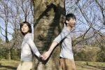 Thumbnail Young couple, hand in hand