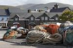 Thumbnail Ropes in the fishing port, Dingle, County Kerry, Ireland, British Isles, Europe