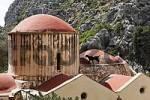 Thumbnail Agios Antonios church in Agiofarango gorge, Southern Crete, Greece