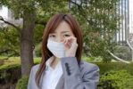 Thumbnail Young woman wearing face mask