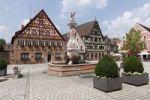 Thumbnail Market square, Roth, Middle Franconia, Franconia, Bavaria, Germany, Europe