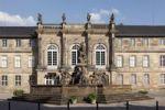 Thumbnail Neues Schloss castle, Markgrafenbrunnen fountain, Bayreuth, Upper Franconia, Franconia, Bavaria, Germany, Europe