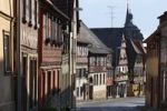 Thumbnail Half-timbered houses in Lichtenfelser Strasse, a street in Bad Staffelstein, Upper Franconia, Franconia, Bavaria, Germany, Europe