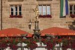 Thumbnail Markgraf-Georg-Brunnen, Martin-Luther-Platz, Ansbach, Mittelfranken, Franken, Bayern, Deutschland, Europa