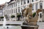Thumbnail Fountain in Residenzplatz square, Eichstaett, Altmuehltal, Upper Bavaria, Bavaria, Germany, Europe