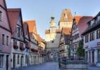 Thumbnail Roedergasse street and Roederturm tower, Rothenburg ob der Tauber, Romantic Road, Middle Franconia, Franconia, Bavaria, Germany, Europe