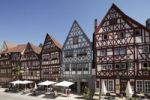 Thumbnail Half-timbered houses on main street, Ochsenfurt, Mainfranken, Lower Franconia, Franconia, Bavaria, Germany, Europe