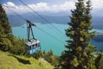 Thumbnail Cable car to Mt Herzogstand above Walchensee Lake, Alps, Upper Bavaria, Bavaria, Germany, Europe