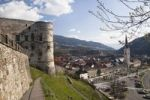 Thumbnail View of Gmuend from the castle, Maltatal Valley, Carinthia, Austria, Europe