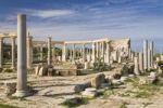 Thumbnail Punic market, Leptis Magna, Libya, North Africa, Africa